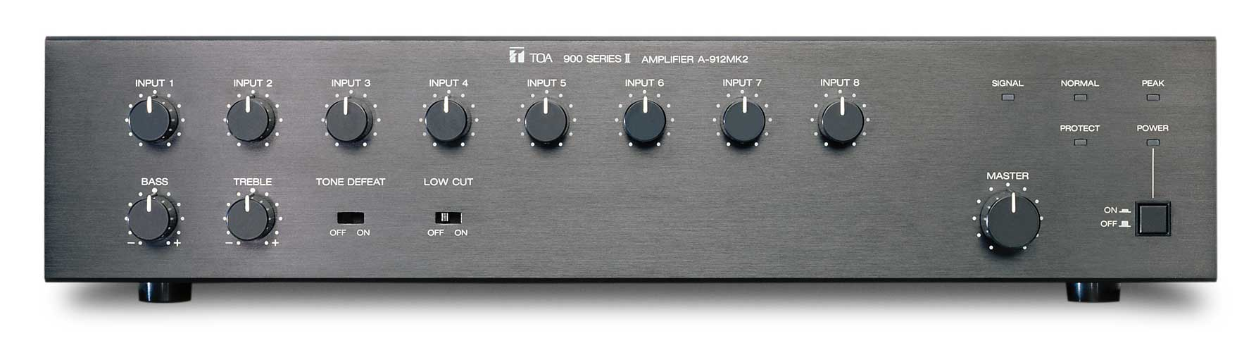 toa 900 series amplifier manual