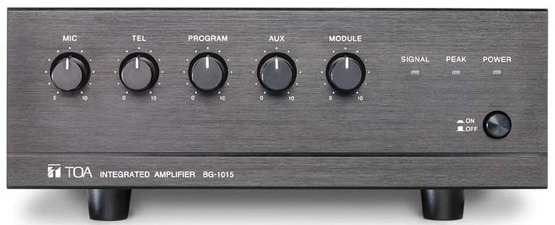 bg 1015 toa corporation rh toa jp Toa Amplifier 901A Toa Integrated Amplifier BG 1030
