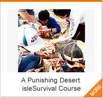 A Punishing Desert isleSurvival Course