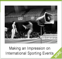 Making an Impression on International Sporting Events