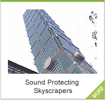 Sound Protecting Skyscrapers
