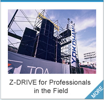Z-DRIVE for Professionals in the Field