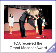 TOA received the Grand Mecenat Award
