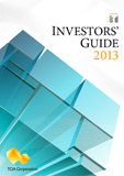 The cover of the investors guide 2013