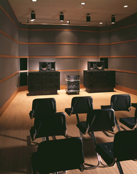 The BEAM Sound Room in TOA's Tokyo office