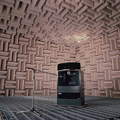 Anechoic chamber in TOA's Acoustic Center