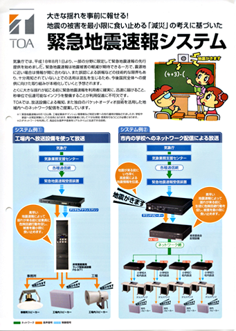 Earthquake Early Warning System catalog