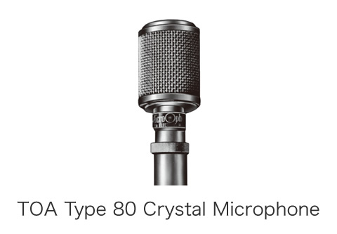 TOA Type 80 Crystal Microphone