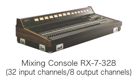 Mixing Console RX-7-328 (32 input channels/8 output channels)