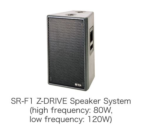 SR-F1 Z-DRIVE Speaker System (high frequency: 80W, low frequency: 120W)