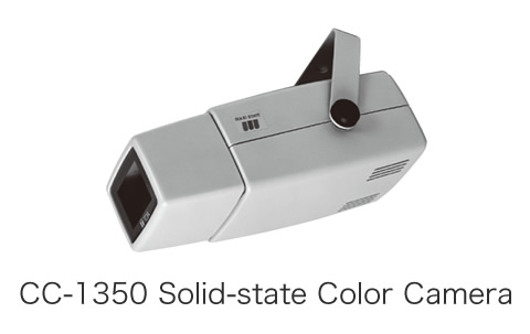 CC-1350 Solid-state Color Camera
