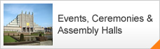Events, Ceremonies & Assembly Halls