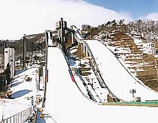 Image of Hakuba Ski Jumping Stadiam in Nagano